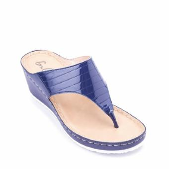G&G Wedge Sandals (NAVY)