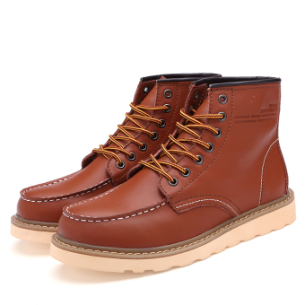 Gao Bang winter New style Martin boots (Light Brown)