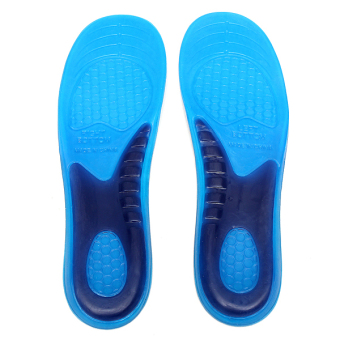 Gel Orthotic Arch Support Massaging Sport Shoe Insole Run Pad (11.2 inches)