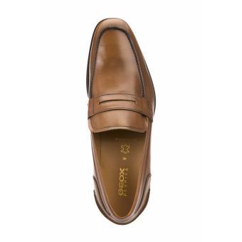 Geox Formal Low Cut Shoes (COGNAC) - 3