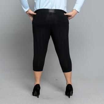 Get Laud Plus 3/4 Leggings Plain (Black) - 3