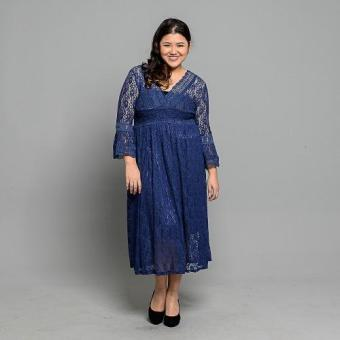 Get Laud Plus PD Letizia Dress (Blue)