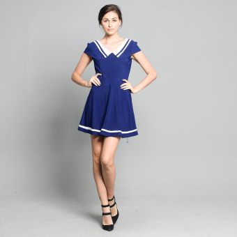 Get Laud SD Dendra Dress (Royal Blue) Price Philippines