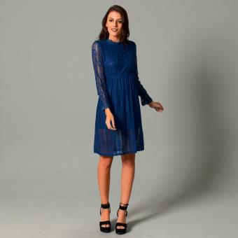 Get Laud Sd Lexey L/S Lace (Blue) Price Philippines
