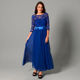 Get Laud Sd Mirabelle Maxi Dress (Royal Blue) Price Philippines