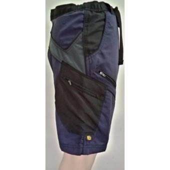 Ghasti Shorts in Navy Blue - 2