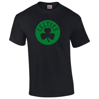 Gildan Brand Boston Celtics NBA Team Design T-Shirt (Black)