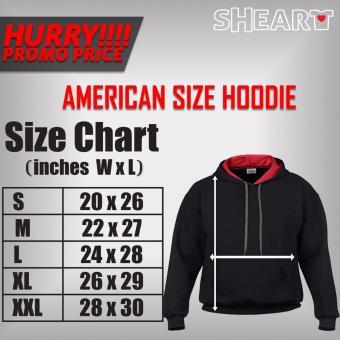 Gildan Brand Contrast Hoodie Jacket Dota 2 (Black/Red) - 3
