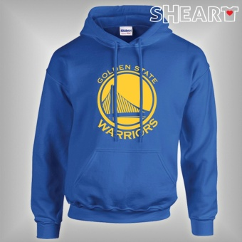 Gildan Brand Hoodie Jacket Golden State Warriors (Royal Blue)
