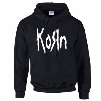 Gildan Brand KORN Vintage Retro Band Logo Design Hoodie Jacket(Black) Price Philippines