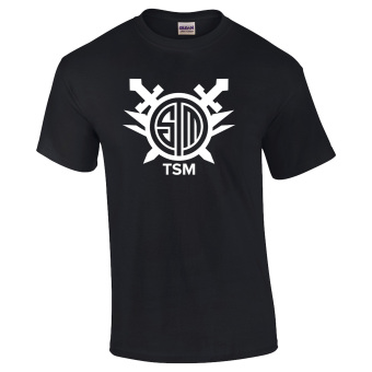 Gildan Brand TEAM SOLOMID LOL Teams League of Legends CS:GO TeamsT-Shirt (Black)