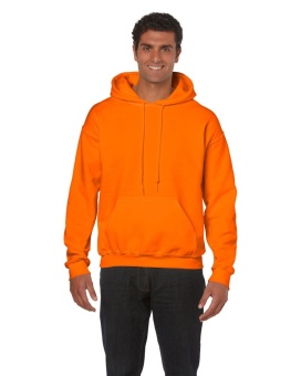 Gildan Classic Fit Hoodie (Safety Orange)