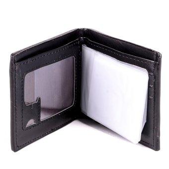Glamorosa Dollar Bill Men's Wallet (Brown) - 2