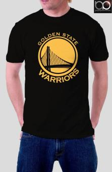 Golden State Warriors T-shirt for Men (Black)