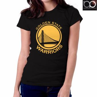 Golden State Warriors T-shirt for Women - (Black)
