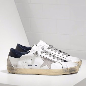Golden Goose DB Super Star Sneakers INLeather With Suede Star Golden Goose Online- intl Price Philippines