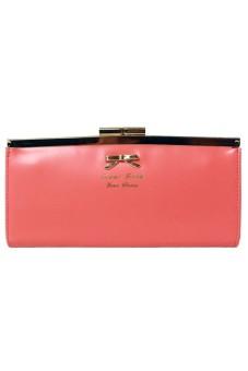 Gracefulvara Button Wallet (Pink)