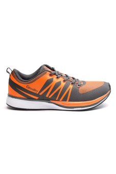 Grosby MR 29-2 Whip Running Shoes (Orange/Gray) - picture 2
