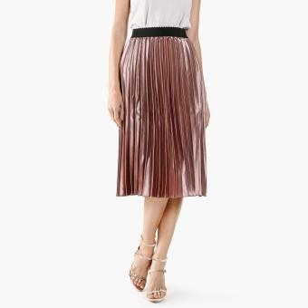 GTW Party Metallic Accordion Skirt (Pink)