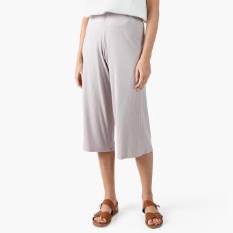 GTW Urban High-waist Ribbed Culottes (Violet)