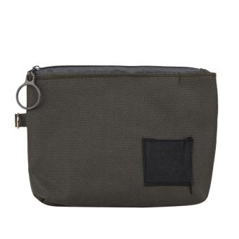 Handy Credit ID Card Holder Cash Coin Wallet Purse (Grey) - intl