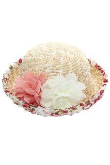 Hang-Qiao Bohemia Beach Sun Hat Multicolor