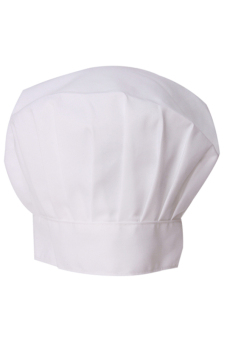 Hang-Qiao Restaurants Chef Hat Waiter Waitress Bakery (White)