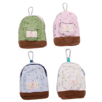 Hanyu Key Bag Floral Lovely Hang Type Small Bag Green