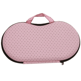 Hanyu Portable Travel Protect Bra Pattern Holder Bag (Pink) - picture 2