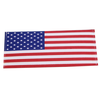 Hanyu The USA Flag Canvas Fashion Students Male Wallet Multicolor