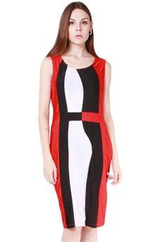 Hanyu Women Sexy Fashion Dresses European Style Dress Red