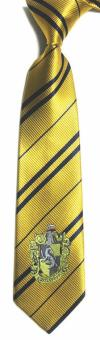 Harry Potter Badge College Tie- Hufflepuff