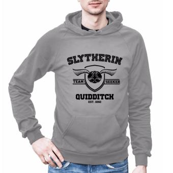 Harry Potter Slytherin Hoodies for Men (Light Grey)