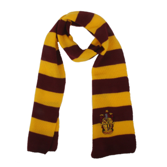 Harry Potter Vouge Gryffindor House Cosplay Knit Wool Costume Scarf Wrap