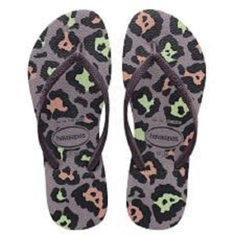 Havaianas Fashion for Women Slim Animals Petunia Flip Flop(Lavander)