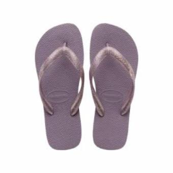 Havaianas Fashion For Women Top Tiras Cf Petunia Flip Flop(Lavander)