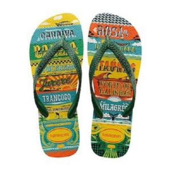 Havaianas Men's Top Praias Flip Flop (Green)