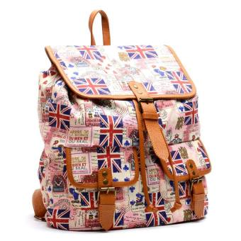 Hdy Biffy Backpack (British Pink Flag)
