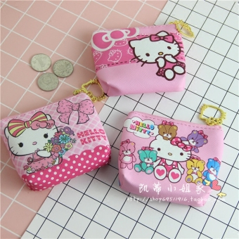 Hello Kitty cute New style small bag purse (Kitty wear skirt)