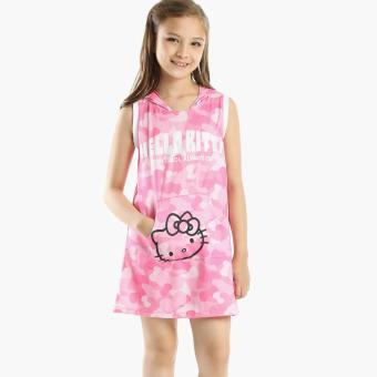 Hello Kitty Girls Hooded Dress (Pink) Price Philippines