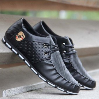 HengSong Fall New Fashion Men 's Casual Shoes Black