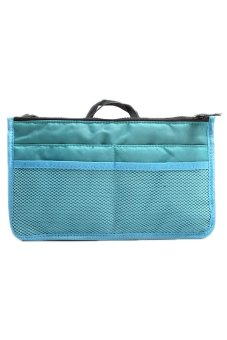 Hengsong Makeup Nylon Handbag (Blue)