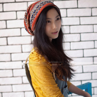 HengSong Unisex Hats Warm Caps Orange/Yellow Price Philippines