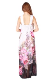 HengSong Women Longuette Evening Dress (White) - picture 2