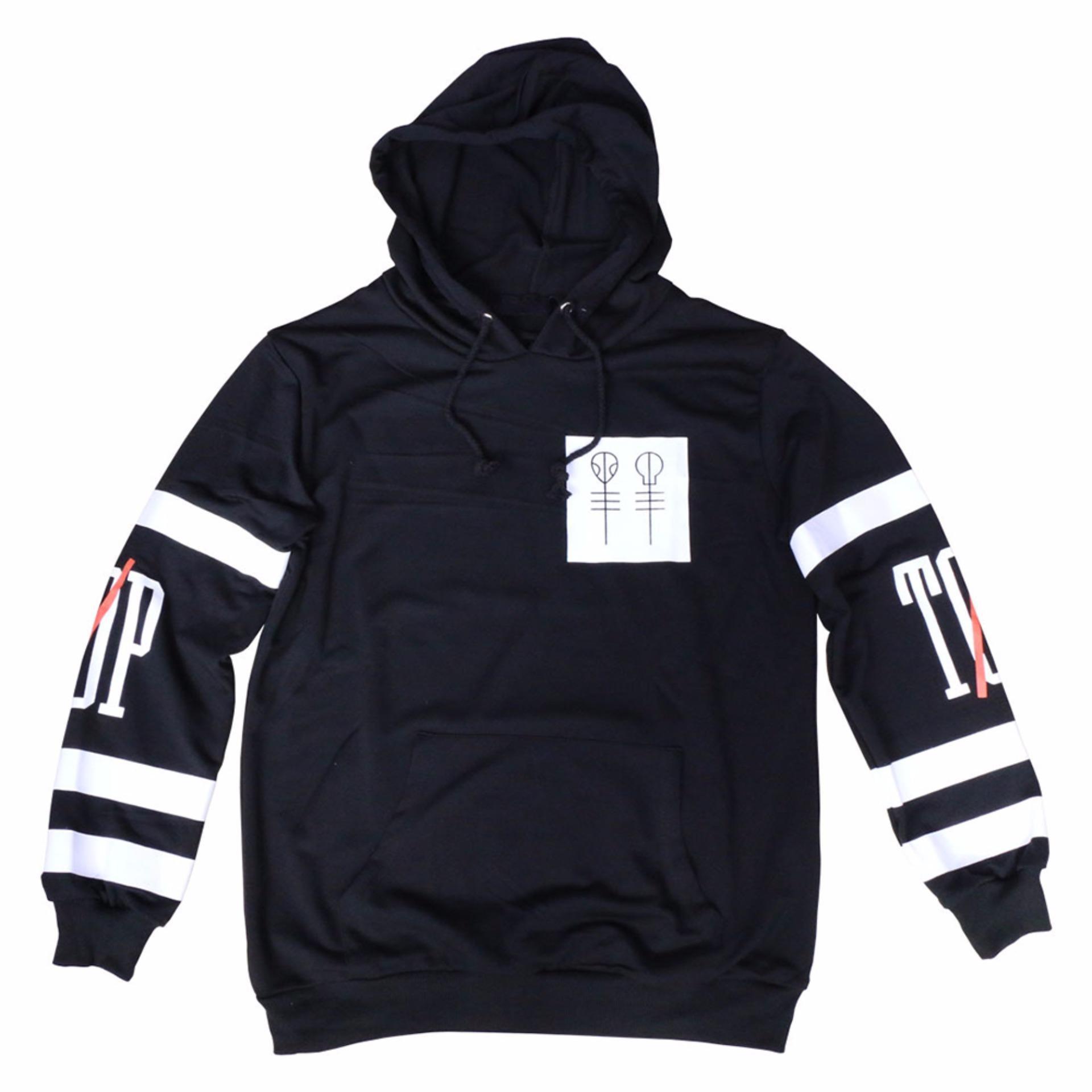 Hequ Fashion New Twenty One Pilots Big Logo Hooded Male Streetwear Kaos Band Original Gildan Cliqueart Streetwearhip Hop Long