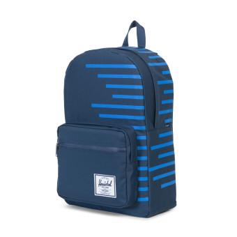 Herschel Supply Co. Pop Quiz Offset Backpack - Navy/Cobalt Stripes - 2