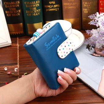 High Quality Lady Women Purse Clutch Wallet Short Card Holder BagBest Gift for Women - intl