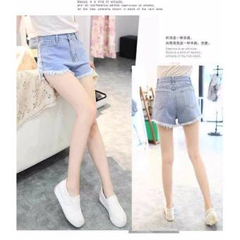 High Waist Denim Shorts For Women Short Jeans (27) Price Philippines