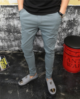 HONRN casual deft celebrity inspired pants (Gray)