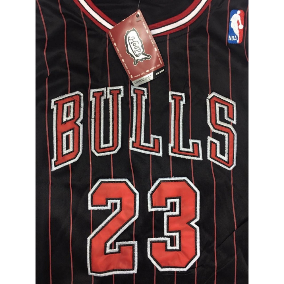 brand new 6764f d322c Philippines | Hoops Chicago Bulls Stripes 23 jersey eShop ...